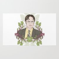 battlestar Area & Throw Rugs featuring Bears, Beets and Battlestar Galactica by Laura Francis Design