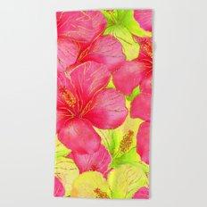 Summer glitter #11 Beach Towel