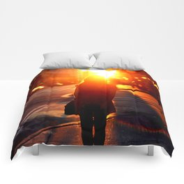 Sun Filled Dreams  Comforters