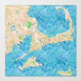 Cape Cod and the Islands (Martha's Vineyard and Nantucket) Canvas Print