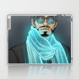 GLOWING SCARF Laptop & iPad Skin