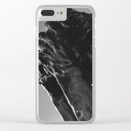 Auguste Rodin - Burger of Calais Statue Clear iPhone Case