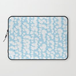 Butterflies Blue Laptop Sleeve