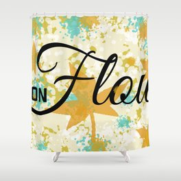 Fall Flow Shower Curtain