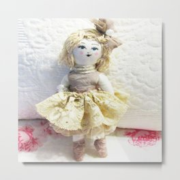 Doll in Lace~ Metal Print