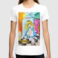 alice in wonderland T-shirts featuring Wonderland by Amana HB