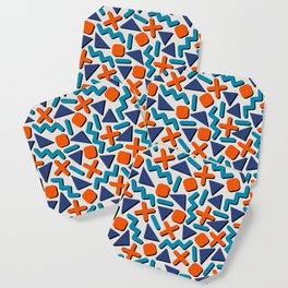 90s Retro Memphis Pattern Coaster