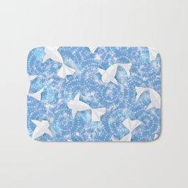 Origami Koi Fishes (Sky Pond Version) Bath Mat