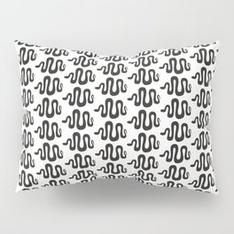 black snakes Pillow Sham