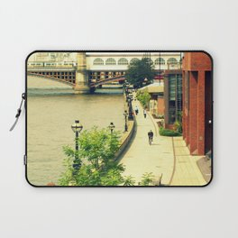 Along the River Thames. Laptop Sleeve