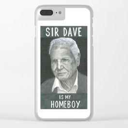 A Gentleman and a Scholar Clear iPhone Case