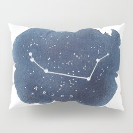 aries constellation zodiac Pillow Sham