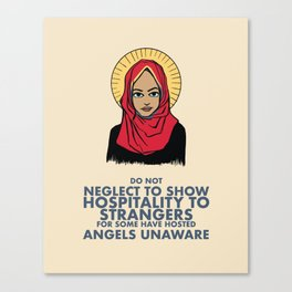 Angels Among Us Canvas Print