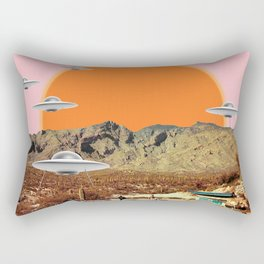 They've arrived!  Rectangular Pillow
