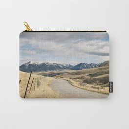The Road to Snowy Mountains Carry-All Pouch