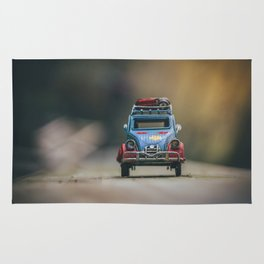 Little cars, Big Planet (Nature) Rug