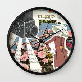 Maggio (May) Wall Clock