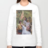 sisters Long Sleeve T-shirts featuring Sisters by Jon Duci