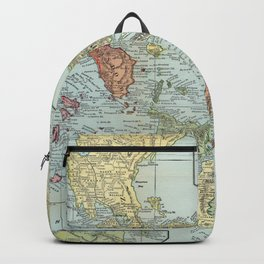 Vintage Map of The Philippines (1898) Backpack