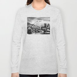Himalayan Village Nepal Long Sleeve T-shirt