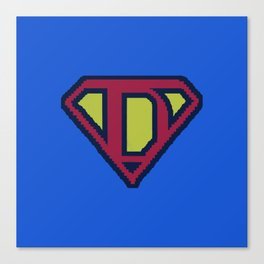 SuperDad 2 Canvas Print