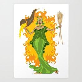Abundantia Art Print