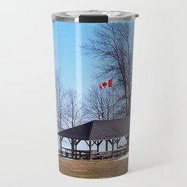 Shelter by the Lake Travel Mug