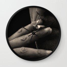 the smoker Wall Clock