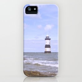 Penmon Point Lighthouse iPhone Case