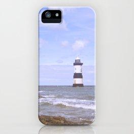Penmon Point Lighthouse iPhone Case
