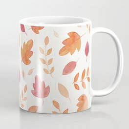 Fall leaves pattern Coffee Mug