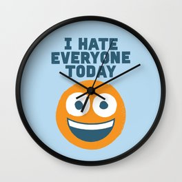 Loathe Is the Answer Wall Clock