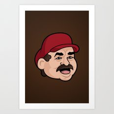 It'sa Me! Bob! Art Print