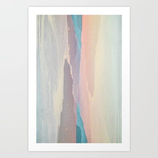 Mashed Landscape I Art Print