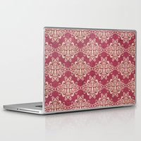 damask Laptop & iPad Skins featuring Damask by Arcturus