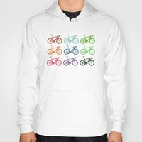 racing Hoodies featuring Racing bicycle by Fabian Bross