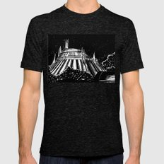Space Mountain Tri-Black 2X-LARGE Mens Fitted Tee