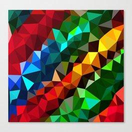 Geometric elements Canvas Print