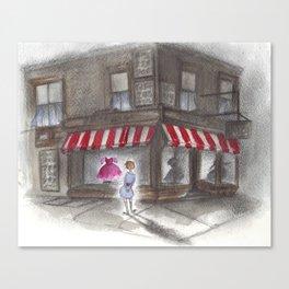 Window Shopper Canvas Print