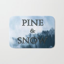 PINE AND SNOW | THRONE OF GLASS SERIES BY SARAH J. MAAS Bath Mat