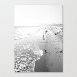 Summer in Santa Monica Canvas Print