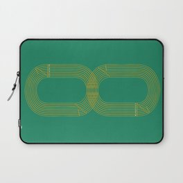 Eight track - runners never quit Laptop Sleeve