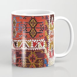 Taspinar Aksaray Antique Turkish Kilim Rug Coffee Mug