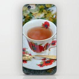 Winter Tea Time iPhone Skin