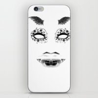 creepy iPhone & iPod Skins featuring creepy by karens designs