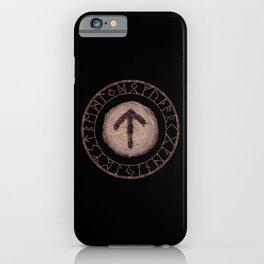 Tiwaz - Elder Futhark rune iPhone Case