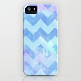Watercolour Chevron {Spring 2015 Limited Edition} No. 2 iPhone Case