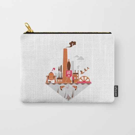 Welcome to the Kelham Island Quarter Carry-All Pouch