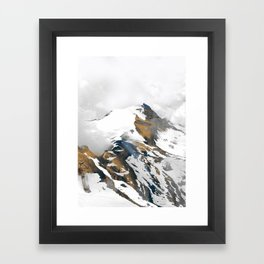 mountain 10 Framed Art Print