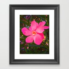 FLOWER N73 Framed Art Print